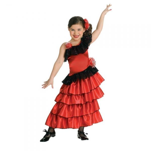 d7de7d0ab68b Dětský kostým Flamenco - Půjčovna kostýmů Praha