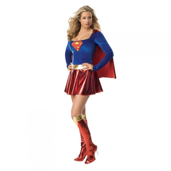 Kostým Supermanka - Půjčovna kostýmů Praha dea311eaa66