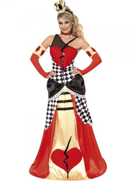 2538d07bef8f Kostým Královna - srdcová - Půjčovna kostýmů Praha