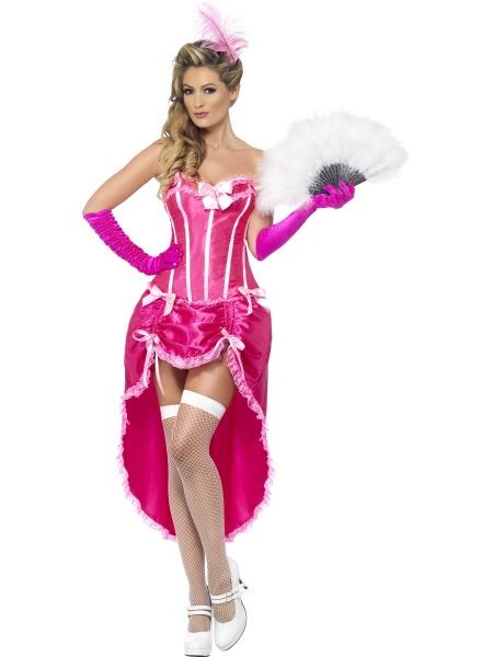 Kostý Růžový Moulin Rouge - Půjčovna kostýmů Praha dfb2a2be340