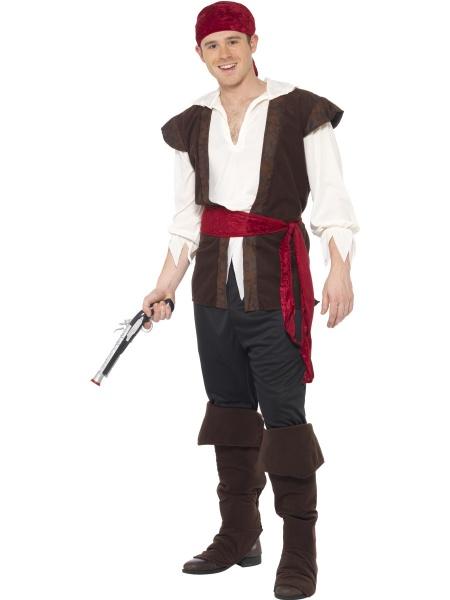 Kostým Pirát s červeným páskem - Půjčovna kostýmů Praha 328190e2465