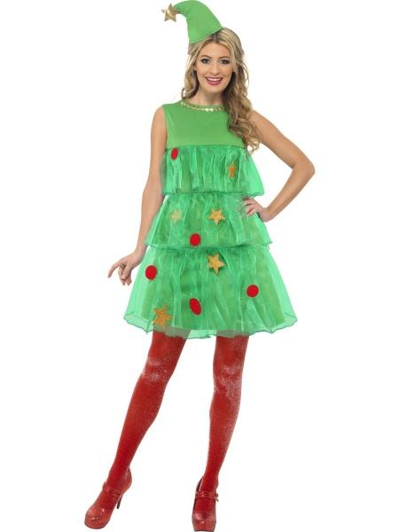 19e46448c Kostým Sexy vánoční stromeček - Půjčovna kostýmů Praha